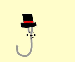 Hook wearing a Hat
