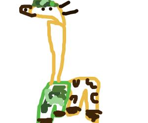 Army Giraffe