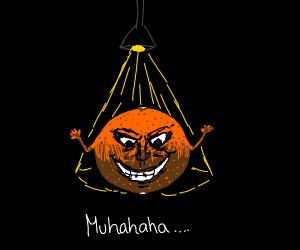 evil orange