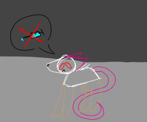 Rat doesn't want to be a lab/test rat