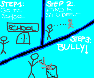 Learn how to bully in 3 easy steps