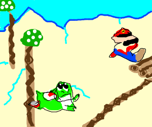 Yoshi is in an abusive relationship