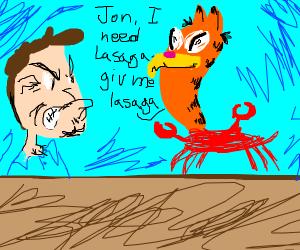 give crabfeild lasaga