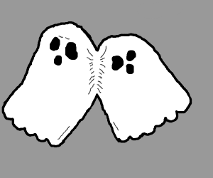 Conjoined ghost twins