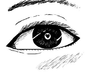 beautiful love eye