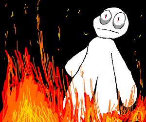 I had to burn it down