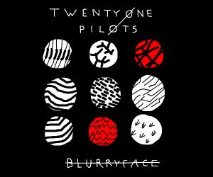 Twenty One Pilots album covers
