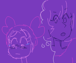 Spinel is thinking about Pink Diamond