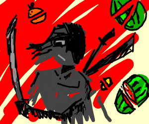 Fruit Ninja: The Anime
