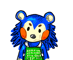 one of the tailor sisters from animal crossin