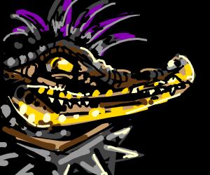goth crocodile