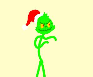 Stickman Grinch
