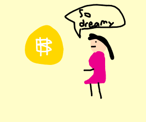 Bitcoin picking girls up