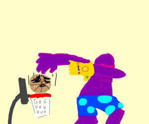 Thanos Sans ready to dunk ya
