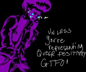 purple $ jojo character is trolled