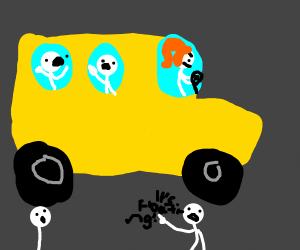 floating school bus