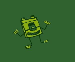 cube mike wazowski