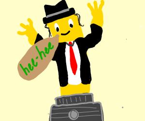 Wacky Waving-Arm Inflatable Michael Jackson