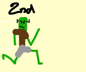 Frankenstein's monster comes in second