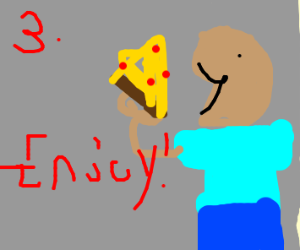 Step 3: Eat and enjoy.