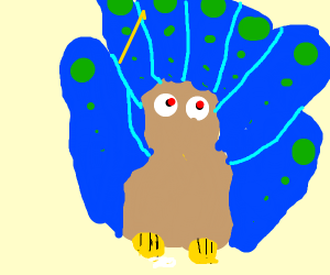 Peacock from your Nightmares