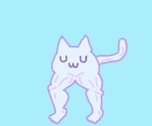 Buffed UwU Cat