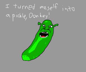 Shrek pickle