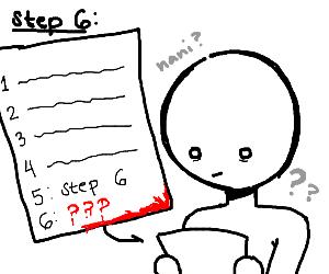 Step 5: step 6