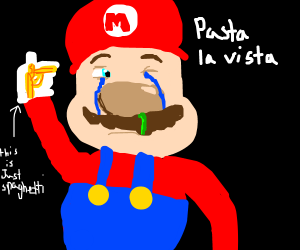 A sad italian