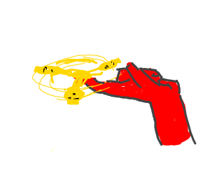 red man spinning lego man head fidget spinner