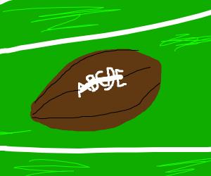 Letter football