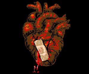 Fixing a broken heart.