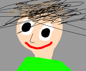 if Baldi Had Playtime's hair