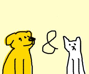 Doggo and catto