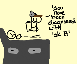 Doctor diagnoses kid with ok B