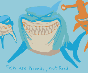 Friends, not food.