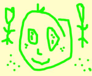 Green Bean Man
