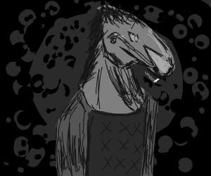horse-bird