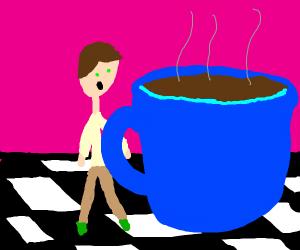 Jumbo coffee