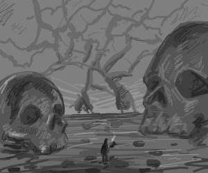 Wandring through giants sculls