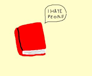 A book complaining