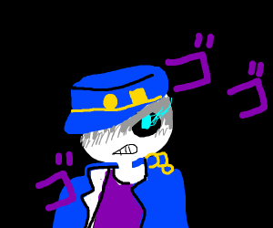 Menacing Skeleton