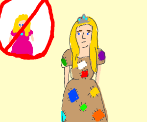 Princess Patch, not Peach.