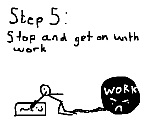 step 4 doodle