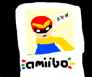captain falcon amiibo costs $30.99