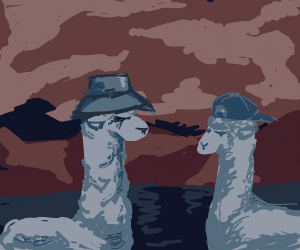 Llamas with Hats (its a show)