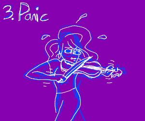1. violin zaps you. 2. you play violin