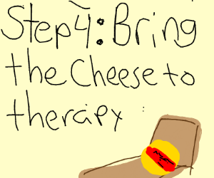 Step 3: Feel concerned that cheese crunches