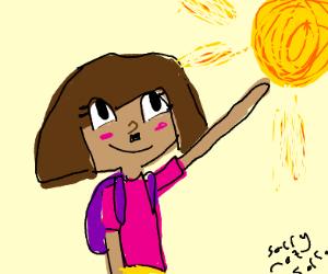 Dora the explorer finds Nazi Germany
