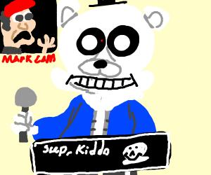 Sans + Freddy Fazbear = OTP